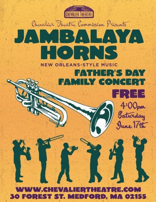 Jambalaya Horns Flyer